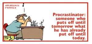 procrastinador