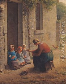 Feeding-The-Young,-1850