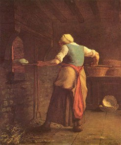 Jean-Francois-Millet-The-world-of-work-Meal
