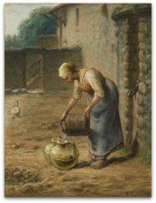 la femme au puis_Jean francois Millet