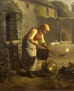 millet-peasant pouring milk96