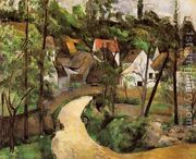 a turn in the road_Cezanne
