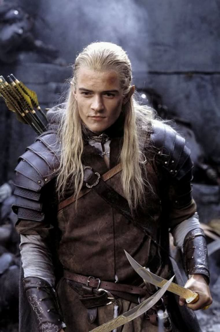 Orlando Bloom As Legolas Greenleaf Personagens –...
