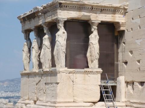 Atenas cariatides