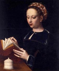 16 Mary Magdalene (1530). Ambrosius Benson
