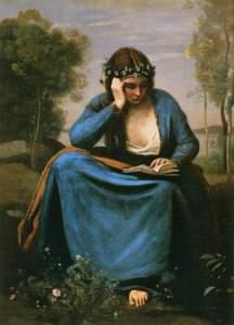 17 Jean-Baptiste Camille Corot, A musa de Virgílio, 1845