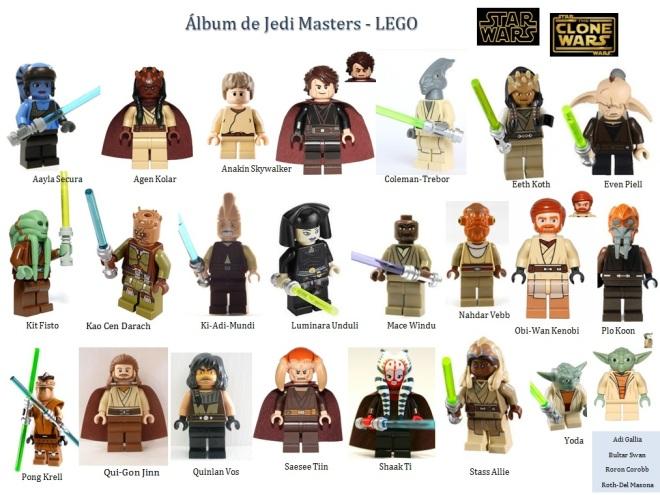 album jedi LEGO Minifigs