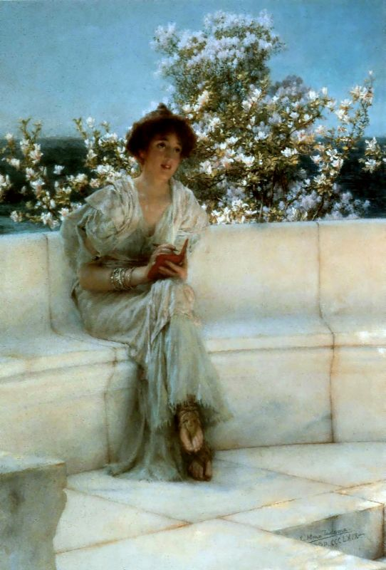 Alma Tadema,The Year is at the Spring