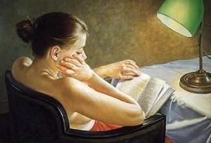 Francine Van Hove, Liseuse