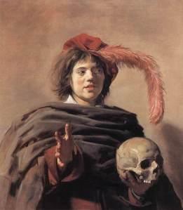 Frans Cals_Young man holding a skull_Vanitas  1628