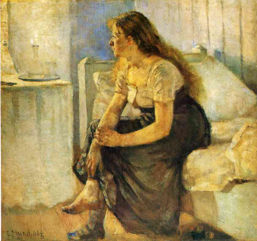morning-1884 Edvard Munch
