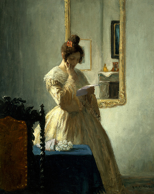114 The Letter (c.1905).  Frederick Simpson Coburn
