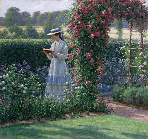 115 Sweet Solitude (1919). Edmund Blair Leighton
