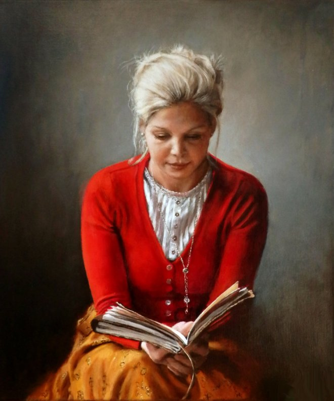 126 Woman reading a book_Ranonus