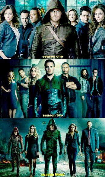 arrow _3 temporadas