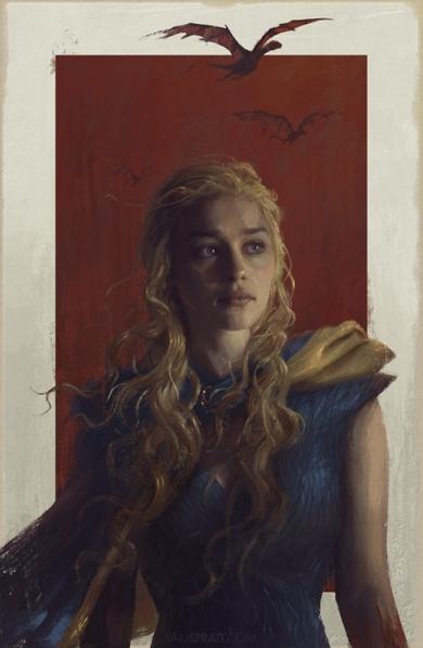 daenerys por sam spratt