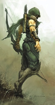 Green Arrow Superheroe
