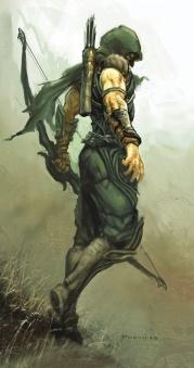 Green Arrow Superheroe