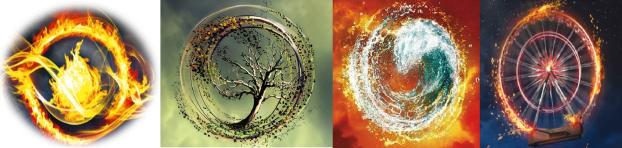 4 simbolos