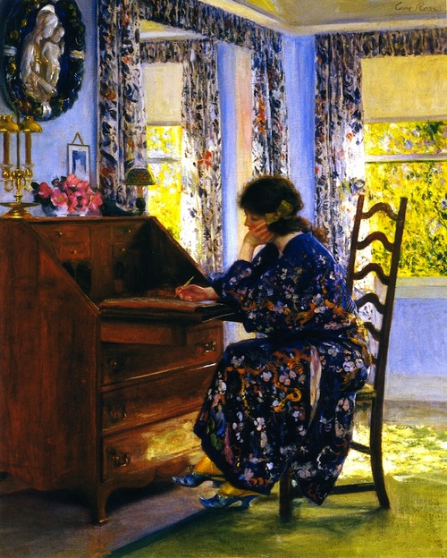 the difficult reply_Guy Rose