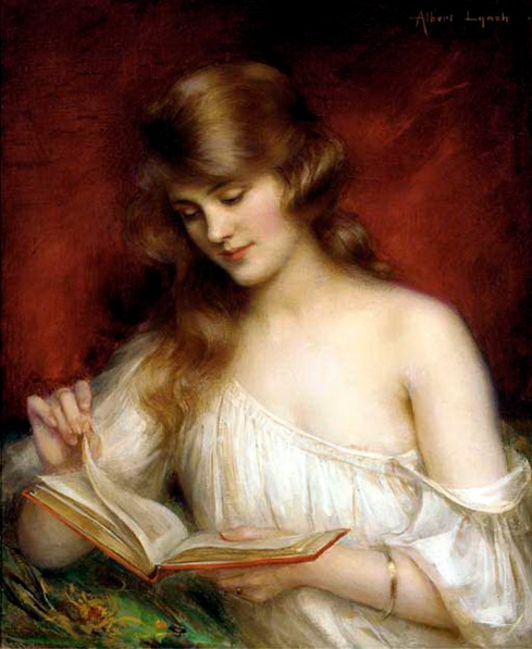 199 Albert Lynch, A Quiet Read