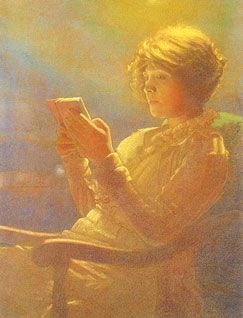 228 woman reading_Leon Kamir