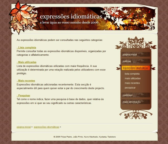 expressoes idiomaticas
