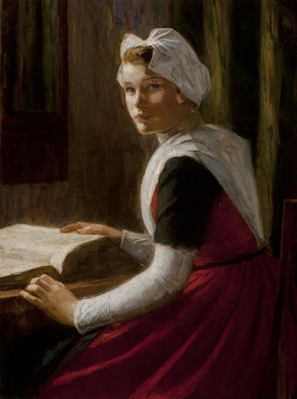 230 Orphan Girl From Amsterdam With a Bible, Nicolaas van der Waay.