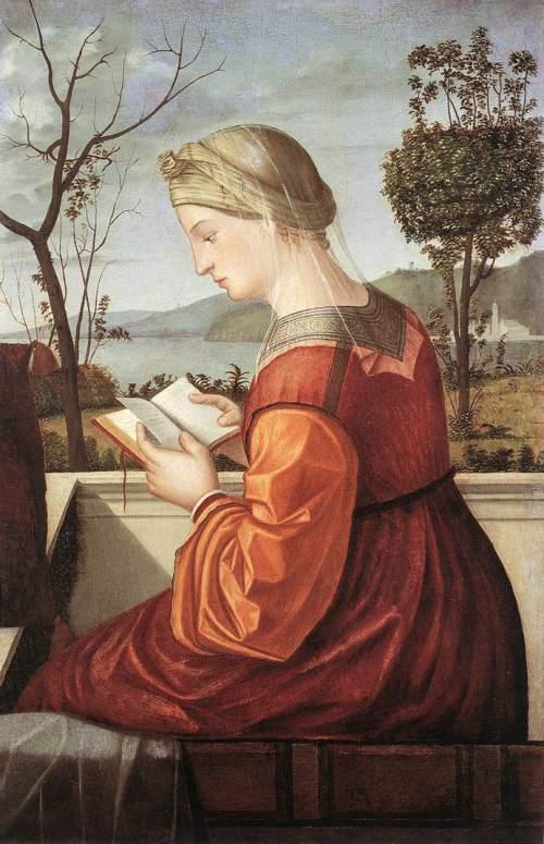 237 Vittore Carpaccio, Virgem lendo, 1505-20.