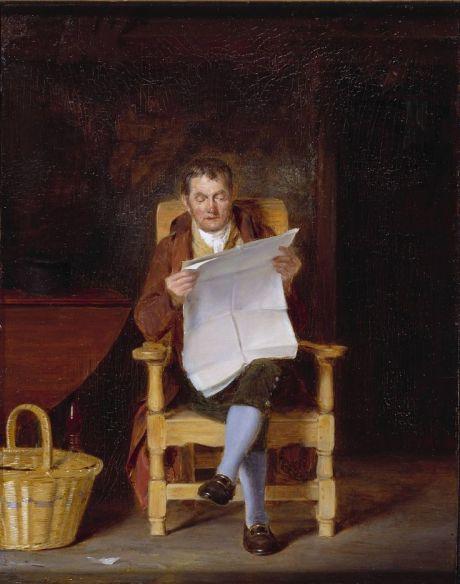 243 Thomas sword Good A man reading
