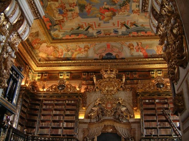 Coimbra- Biblioteca da Universidade de Coimbra