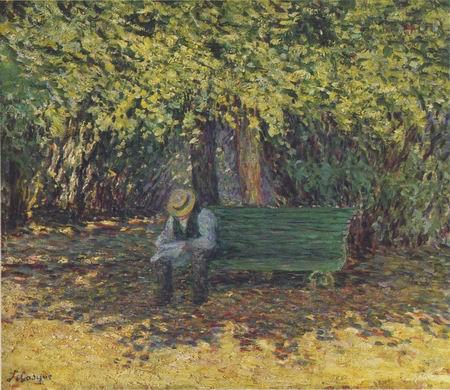 Reading in the Garden_aHenri Lebasque