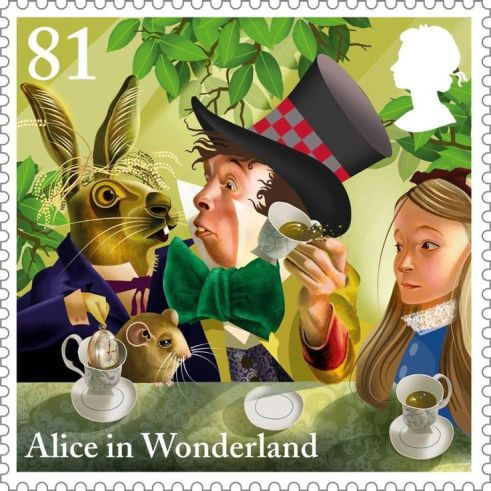 alice in wonderland_stamp