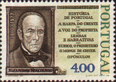 JP-Selo-33 -1º Centenário da Morte de Alexandre Herculano.jpg