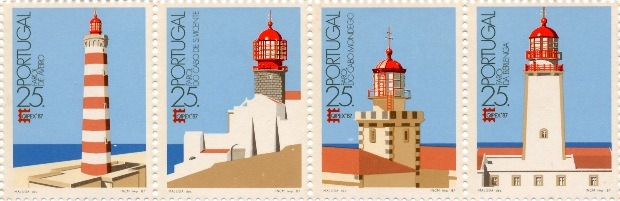 Selo Faróis da Costa Portuguesa[4] Maluda.jpg