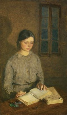 Dorelia by Lamplight_ at Toulouse_ painted by Gwen John