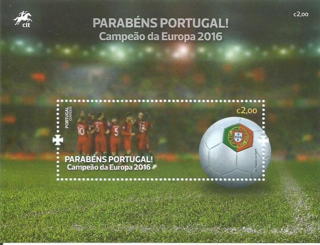 Portugal - 2016 - Parabéns Portugal! - bloco.jpg