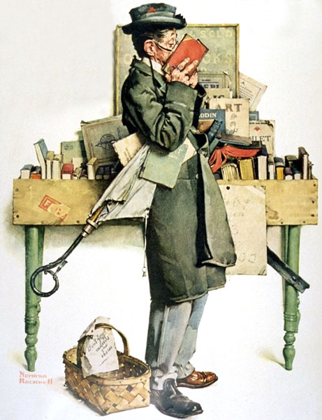 reading-book-by-norman-rockwell